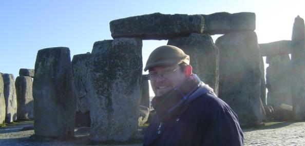 Andrew Miller at Stonehenge